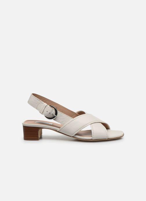 Sandales et nu-pieds L.K. Bennett NOAH Blanc vue derrière
