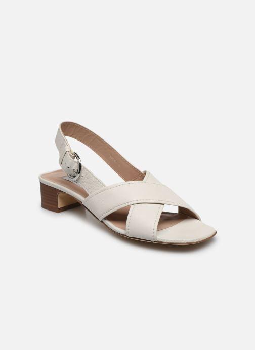 Sandales et nu-pieds L.K. Bennett NOAH Blanc vue détail/paire