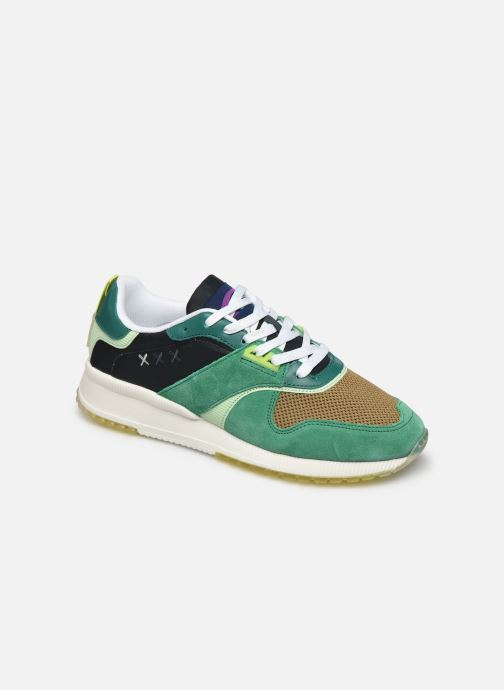 Baskets Scotch & Soda Vivex Vert vue détail/paire