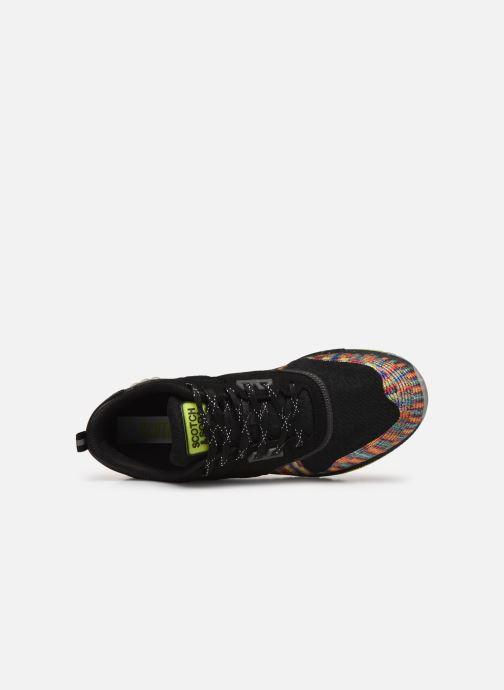 Sneakers Scotch & Soda Vivex Zwart links