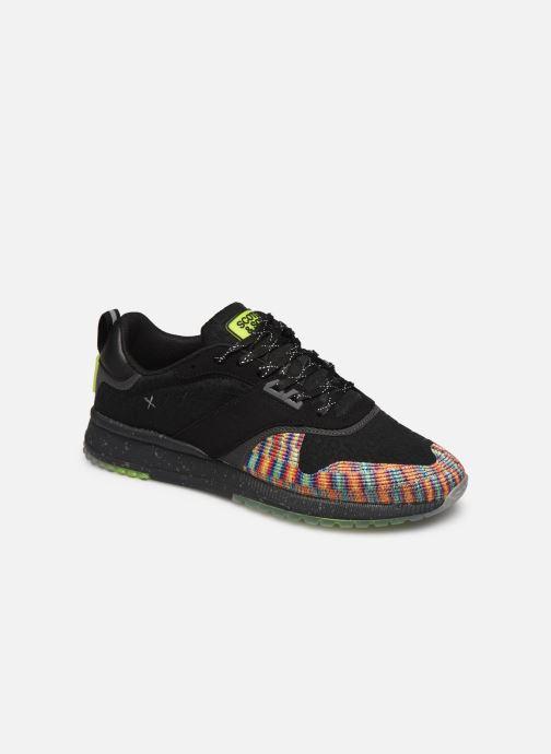 Sneakers Scotch & Soda Vivex Zwart detail