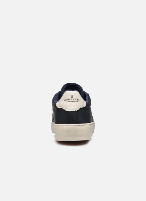 Sneakers Scotch & Soda Plakka Blauw rechts