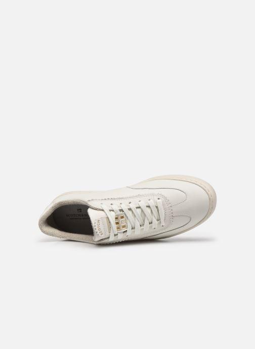 Sneaker Scotch & Soda Plakka weiß ansicht von links