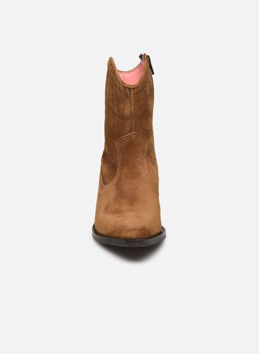 Boots en enkellaarsjes Scotch & Soda Corall Bruin model