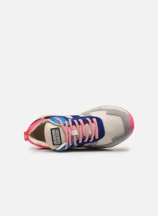 Sneakers Scotch & Soda Celest Blauw links