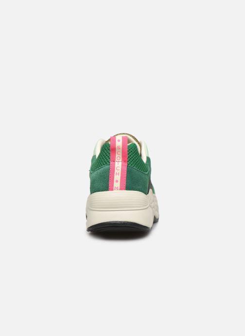 Sneakers Scotch & Soda Celest Groen rechts