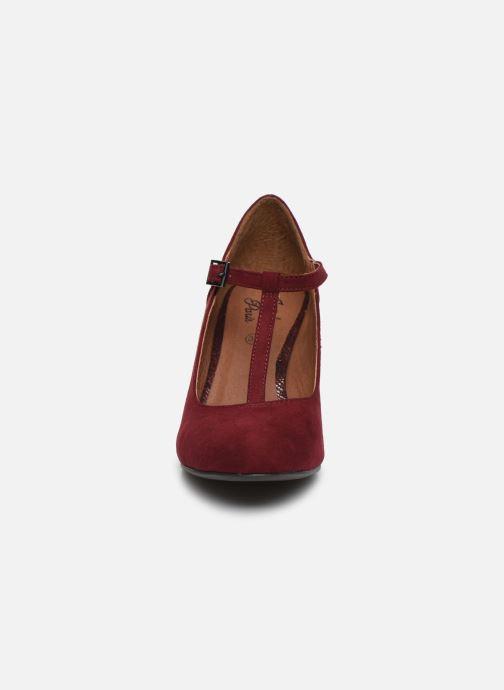 Zapatos de tacón Initiale Paris Concerta Vino vista del modelo