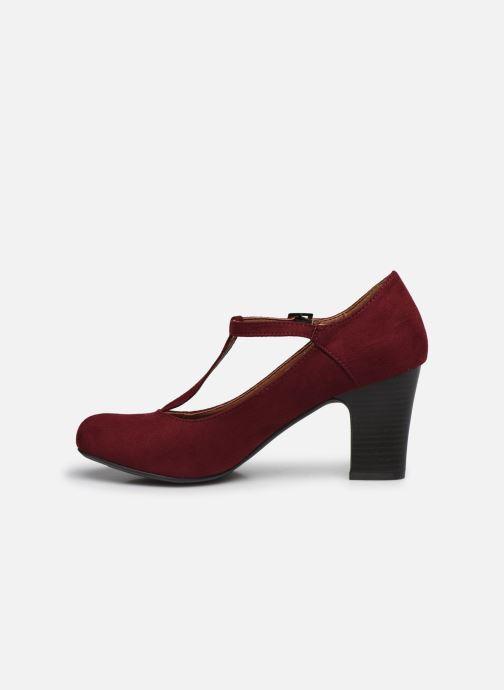 Zapatos de tacón Initiale Paris Concerta Vino vista de frente