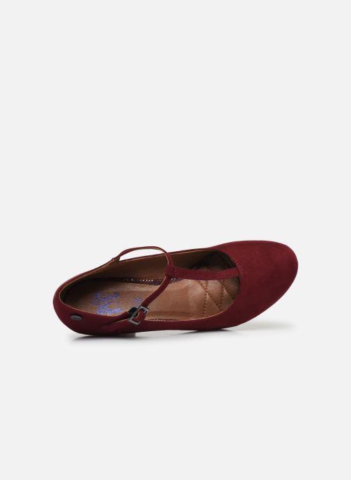Zapatos de tacón Initiale Paris Concerta Vino vista lateral izquierda