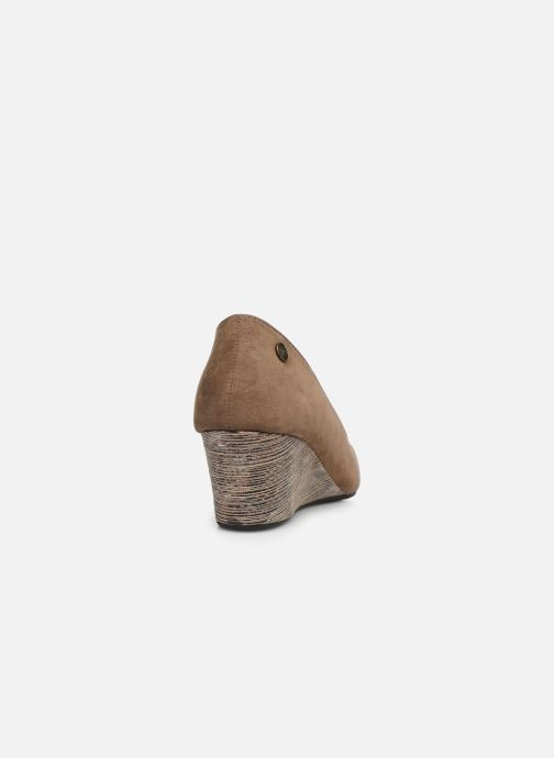 Zapatos de tacón Initiale Paris Croatie Marrón vista lateral derecha