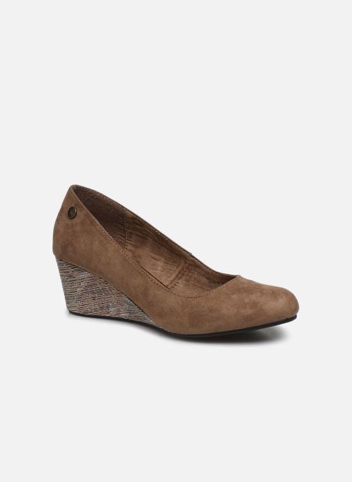 High heels Initiale Paris Croatie Brown detailed view/ Pair view