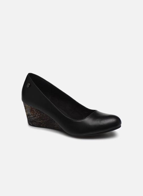 Høje hæle Initiale Paris Croatia Sort detaljeret billede af skoene