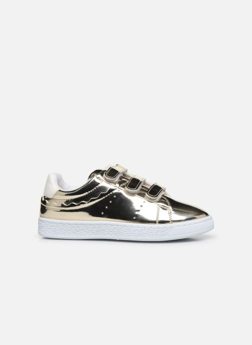 Trainers Initiale Paris Tehani Bronze and Gold back view