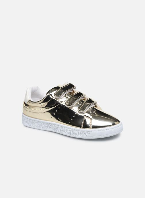 Trainers Initiale Paris Tehani Bronze and Gold detailed view/ Pair view