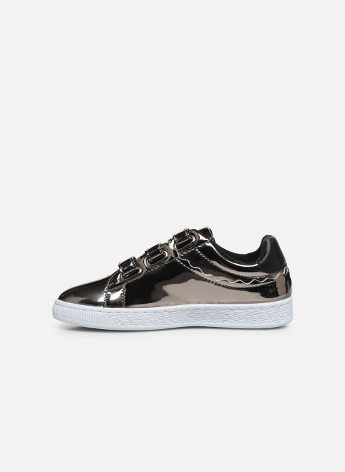 Sneakers Initiale Paris Tehani Zilver voorkant