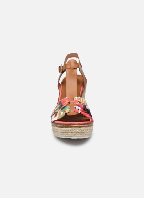 Espadrilles Initiale Paris Tori Rose vue portées chaussures