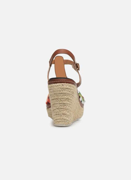 Espadrilles Initiale Paris Tori Brown view from the right