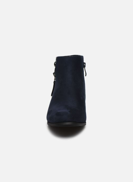 Ankle boots Initiale Paris Realite Blue model view