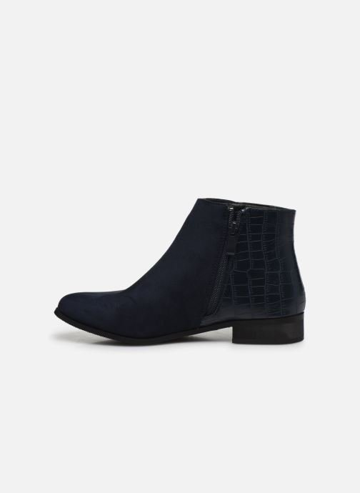 Ankle boots Initiale Paris Realite Blue front view