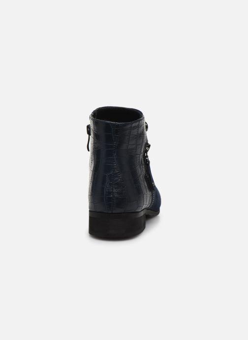 Boots en enkellaarsjes Initiale Paris Realite Blauw rechts