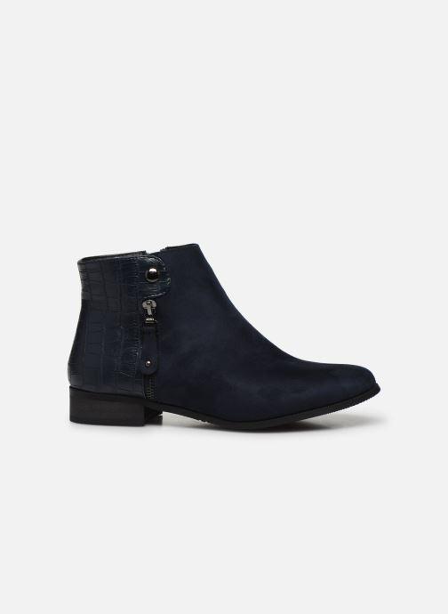 Boots en enkellaarsjes Initiale Paris Realite Blauw achterkant