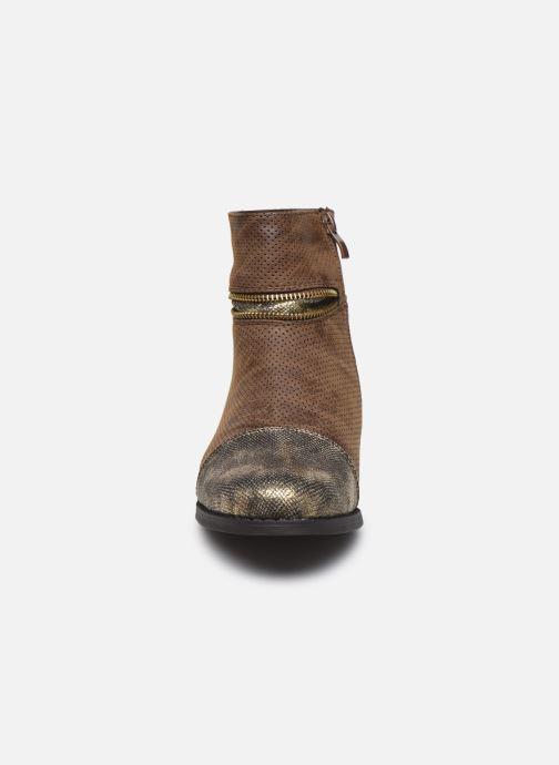 Bottines et boots Initiale Paris Story Marron vue portées chaussures