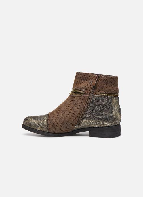 Bottines et boots Initiale Paris Story Marron vue face