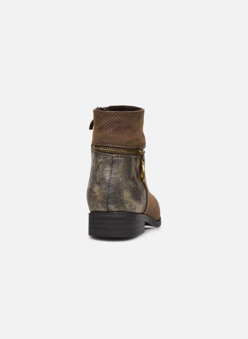 Bottines et boots Initiale Paris Story Marron vue droite