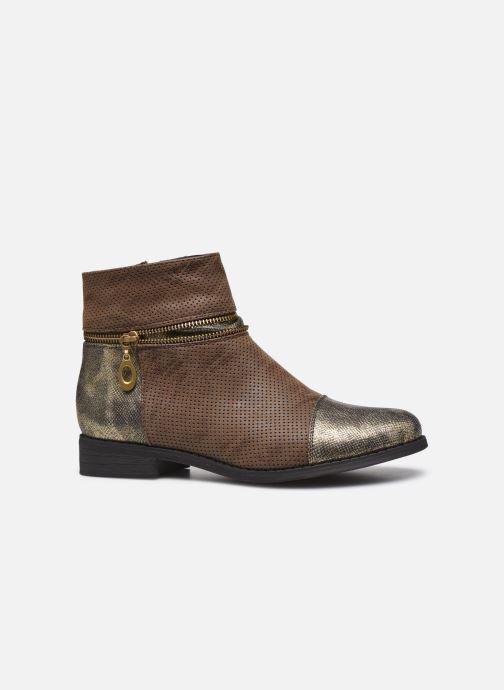 Bottines et boots Initiale Paris Story Marron vue derrière