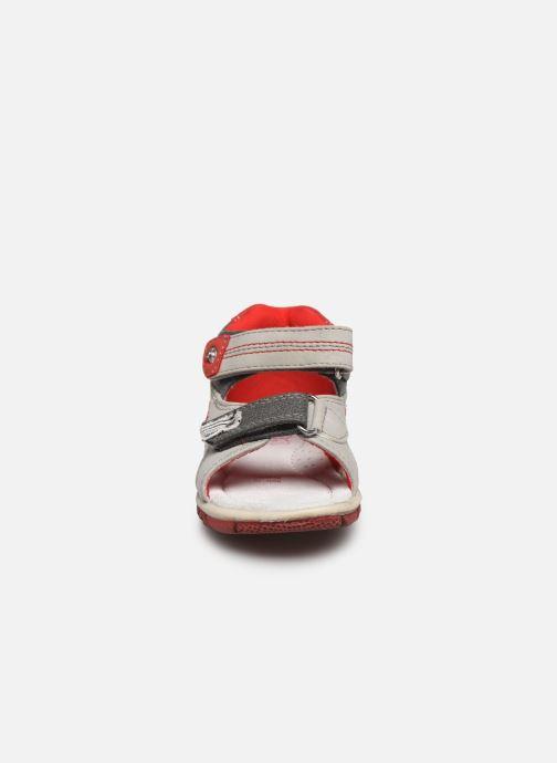 Sandalen NA! Akio grau schuhe getragen