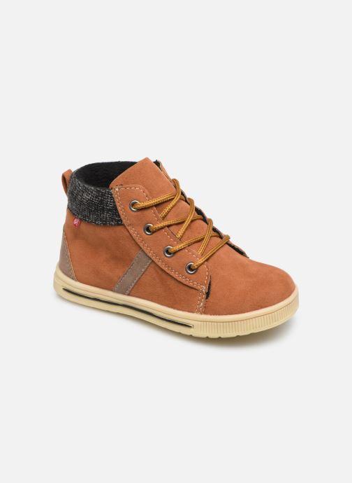 Bottines et boots NA! Acuzi Marron vue détail/paire