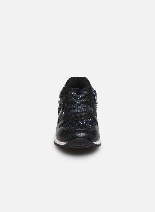 Baskets NA! Agena Noir vue portées chaussures