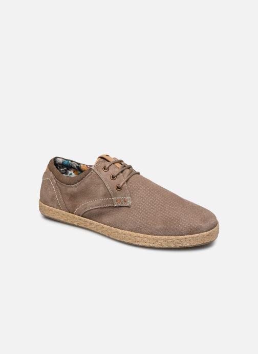 Chaussures à lacets Roadsign Lenkis Beige vue détail/paire