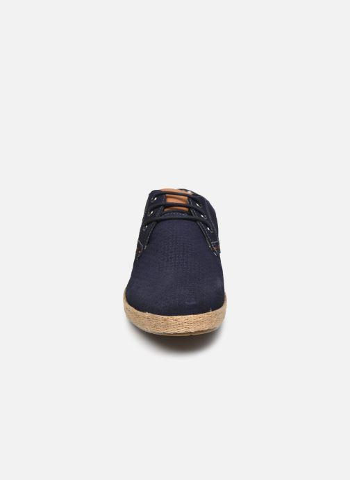Zapatos con cordones Roadsign Lenkis Azul vista del modelo