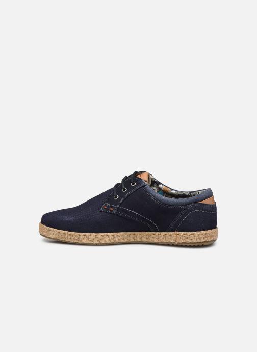 Zapatos con cordones Roadsign Lenkis Azul vista de frente