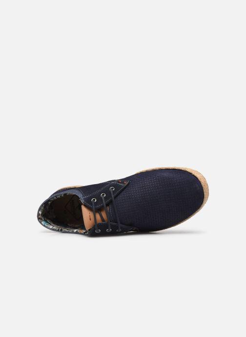 Zapatos con cordones Roadsign Lenkis Azul vista lateral izquierda