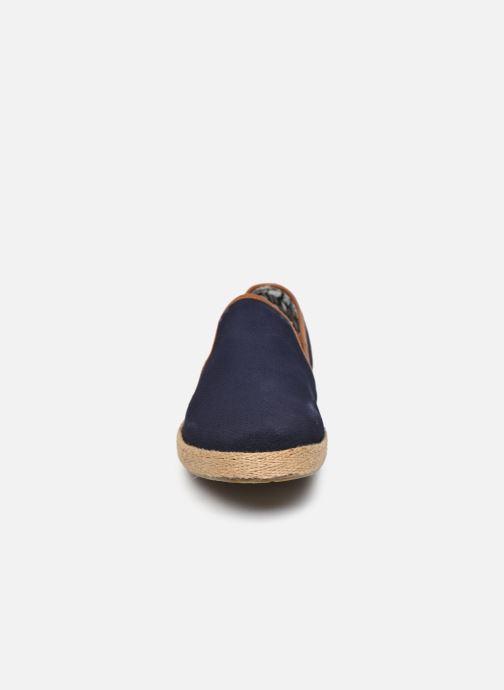 Scarpe di corda Roadsign Leriko Azzurro modello indossato