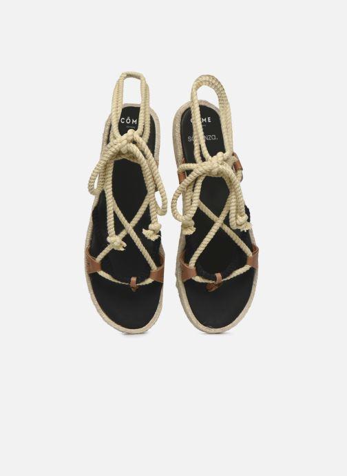 Espadrilles Made by SARENZA Sarenza x Côme Editions Sandales Plates Multicolore vue portées chaussures