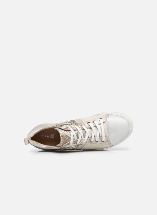 Sneakers Khrio DORIS Argento immagine sinistra