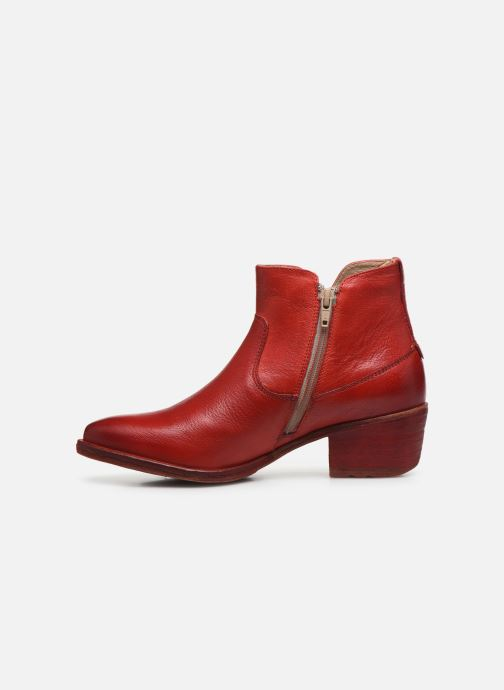 Bottines et boots Khrio MIRANDA 11720K Rouge vue face