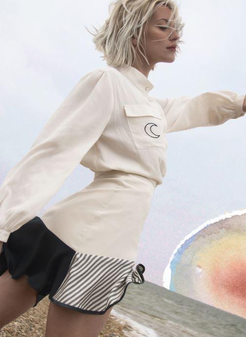 Vêtements Made by SARENZA Sarenza x Côme Editions Météore Blanc vue portées chaussures