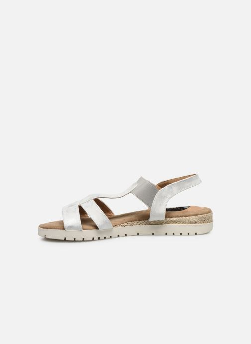 Sandalias I Love Shoes FINALA Size + Plateado vista de frente