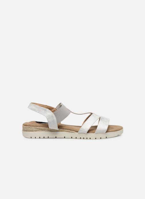 Sandalias I Love Shoes FINALA Size + Plateado vistra trasera