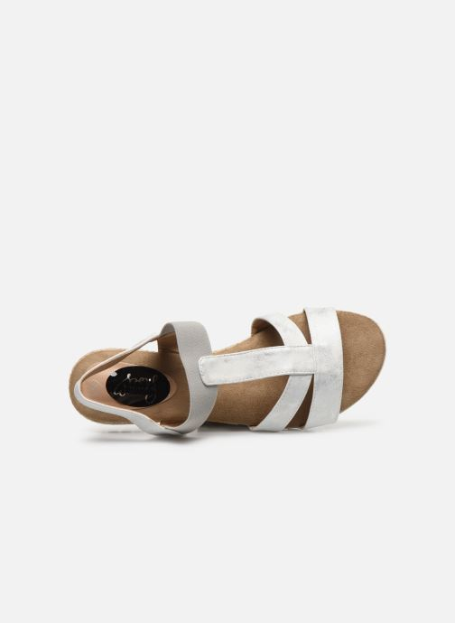 Sandalias I Love Shoes FINALA Size + Plateado vista lateral izquierda