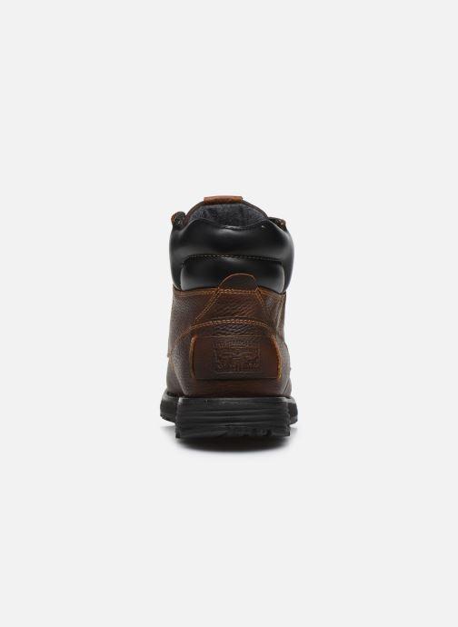Bottines et boots Levi's Arrowhead Marron vue droite