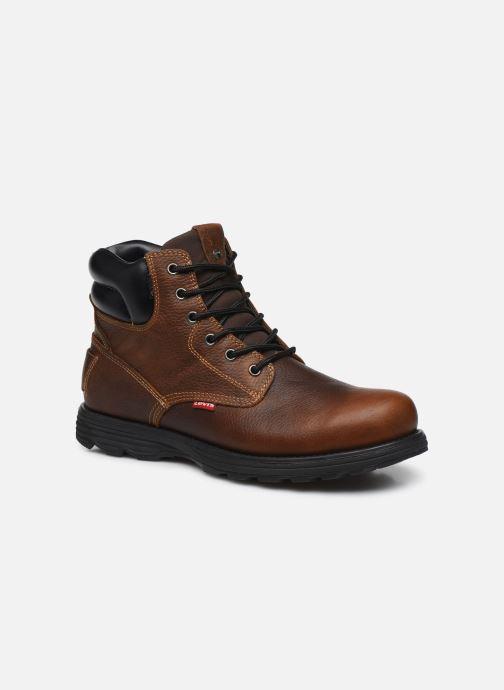 Bottines et boots Levi's Arrowhead Marron vue détail/paire