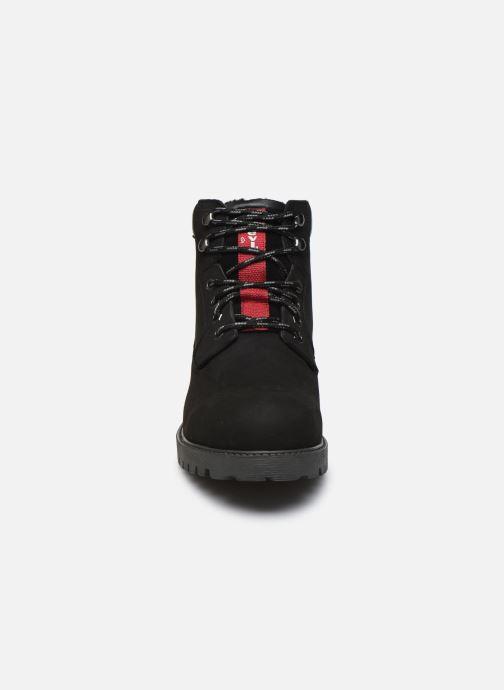 Bottines et boots Levi's Hodges Noir vue portées chaussures