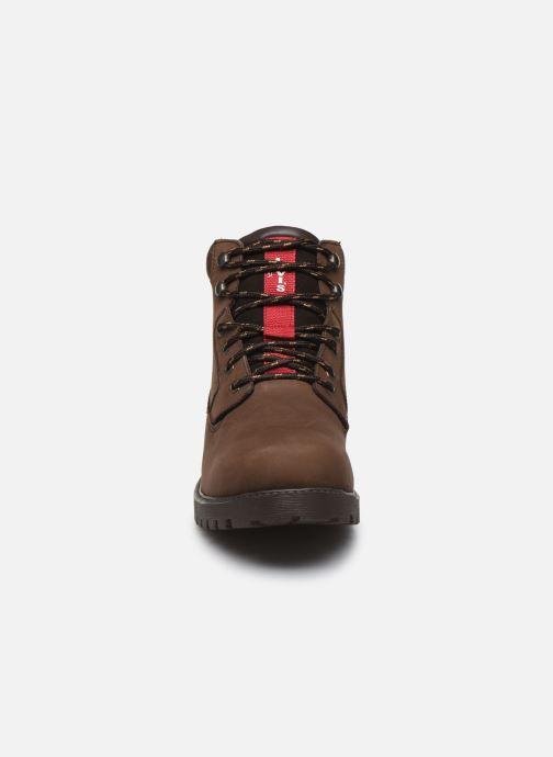 Bottines et boots Levi's Hodges Marron vue portées chaussures