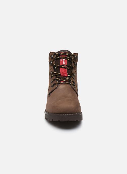 Bottines et boots Levi's Hodges 2 Marron vue portées chaussures