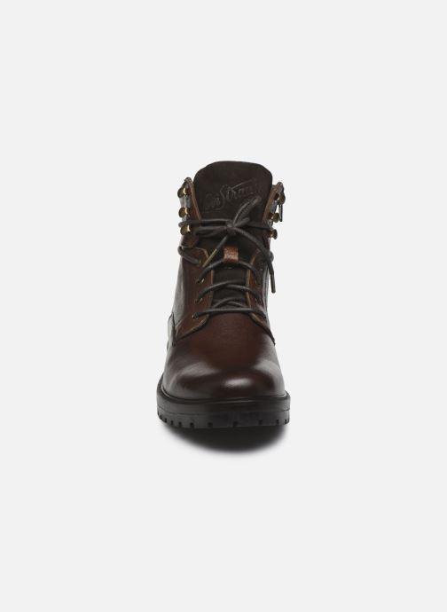 Bottines et boots Levi's Gabb Marron vue portées chaussures